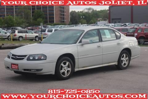 2004 Chevrolet Impala for sale at Your Choice Autos - Joliet in Joliet IL