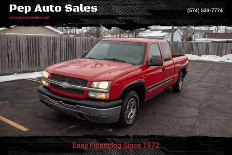 2003 Chevrolet Silverado 1500 for sale at Pep Auto Sales in Goshen IN