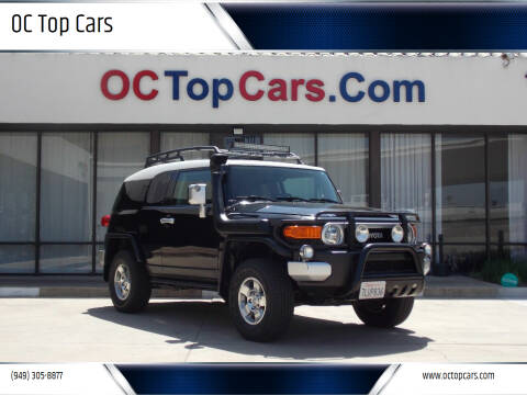 2009 Toyota FJ Cruiser for sale at OC Top Cars in Irvine CA