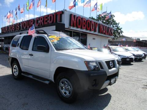 2012 Nissan Xterra for sale at Giant Auto Mart 2 in Houston TX