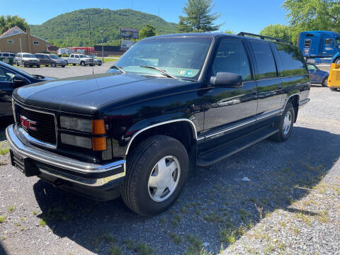 1999 GMC Suburban for sale at DOUG'S USED CARS in East Freedom PA