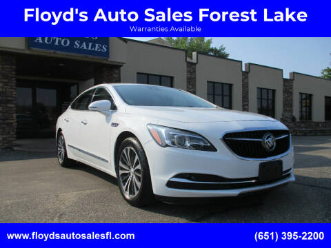 2017 Buick LaCrosse for sale at Floyd's Auto Sales Forest Lake in Forest Lake MN