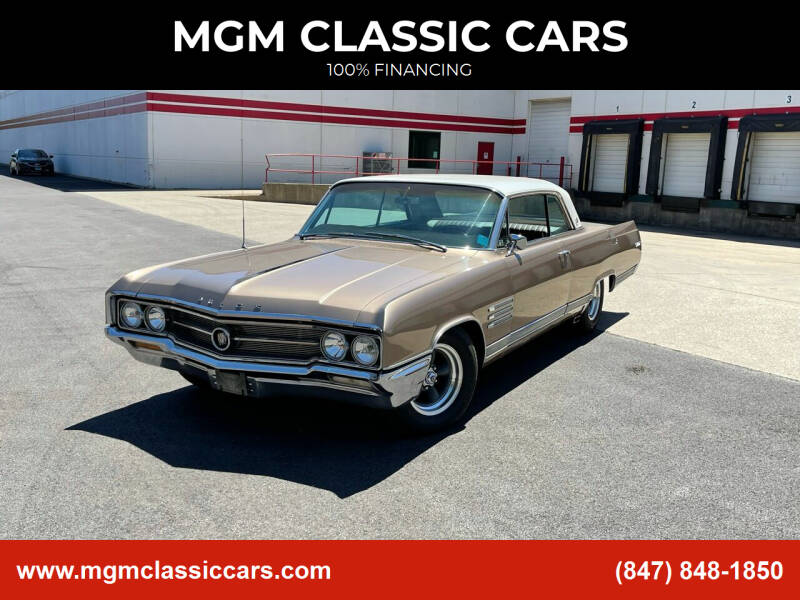 1964 Buick Wildcat for sale at MGM CLASSIC CARS in Addison IL