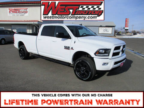 2017 RAM Ram Pickup 3500 for sale at West Motor Company in Preston ID
