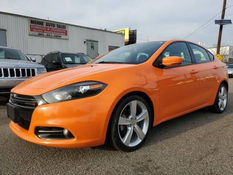 2014 Dodge Dart for sale at MENNE AUTO SALES in Hasbrouck Heights NJ