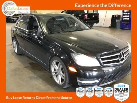 2014 Mercedes-Benz C-Class for sale at Dallas Auto Finance in Dallas TX