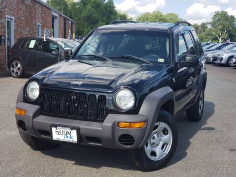 2004 Jeep Liberty for sale at JDM Auto in Fredericksburg VA