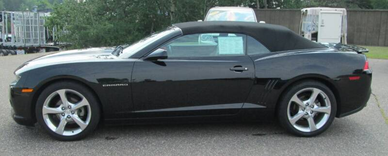 2015 Chevrolet Camaro for sale at The AUTOHAUS LLC in Tomahawk WI