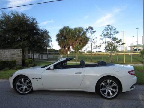 2012 Maserati GranTurismo for sale at Auto Sport Group in Delray Beach FL
