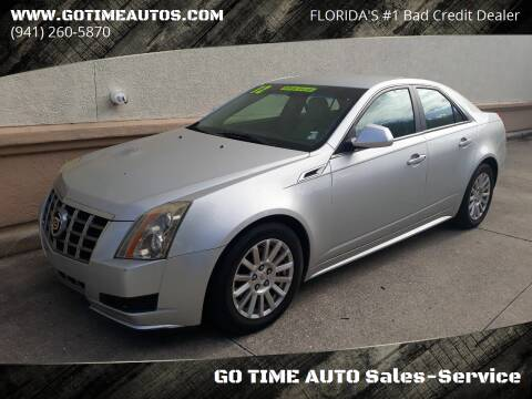 2012 Cadillac CTS for sale at Go Time Automotive in Sarasota FL