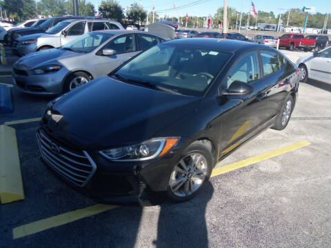 2017 Hyundai Elantra for sale at ORANGE PARK AUTO in Jacksonville FL