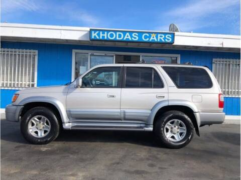 2000 Toyota 4Runner for sale at Khodas Cars in Gilroy CA