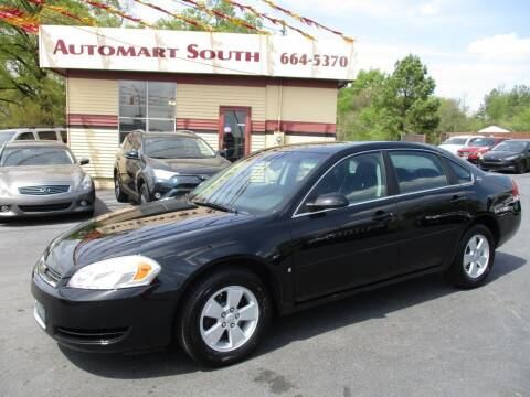 2008 Chevrolet Impala for sale at Automart South in Alabaster AL