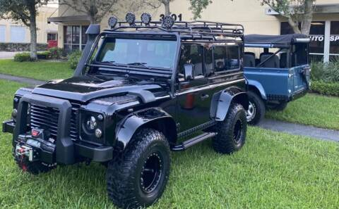 1997 Land Rover Defender for sale at AUTOSPORT in Wellington FL