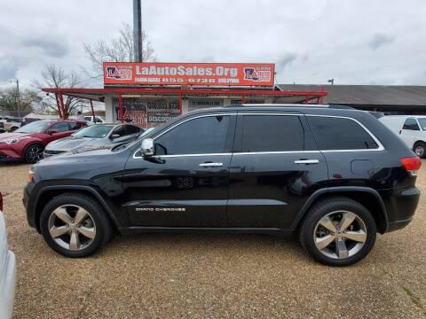 2014 Jeep Grand Cherokee for sale at LA Auto Sales in Monroe LA