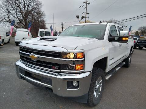 2018 Chevrolet Silverado 2500HD for sale at P J McCafferty Inc in Langhorne PA