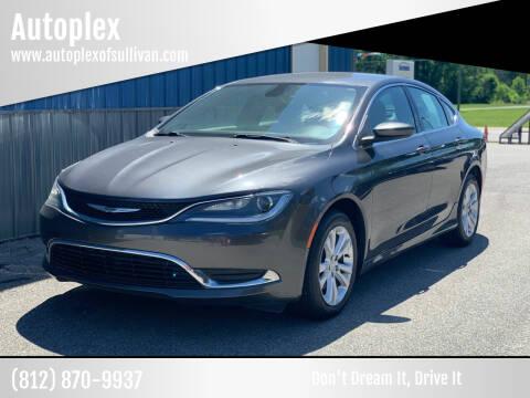 2015 Chrysler 200 for sale at Autoplex in Sullivan IN