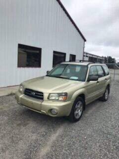 2003 Subaru Forester for sale at CAROLINA TOY SHOP LLC in Hartsville SC