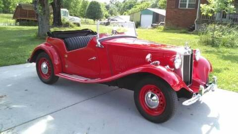 1951 MG TD for sale at Classic Car Deals in Cadillac MI
