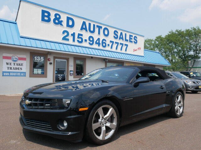 2011 Chevrolet Camaro for sale at B & D Auto Sales Inc. in Fairless Hills PA