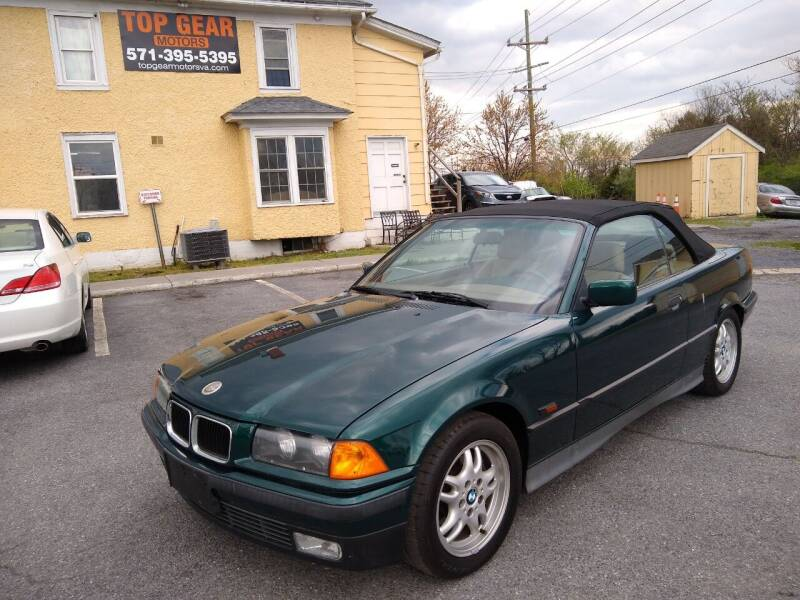 1995 BMW 3 Series for sale at Top Gear Motors in Winchester VA