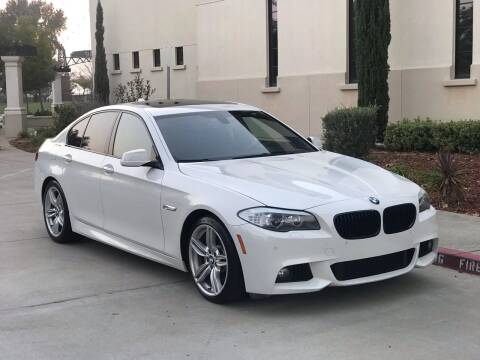 2013 BMW 5 Series for sale at Auto King in Roseville CA
