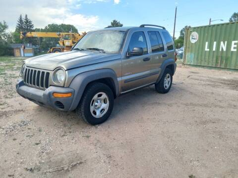 2004 Jeep Liberty for sale at DK Super Cars in Cheyenne WY