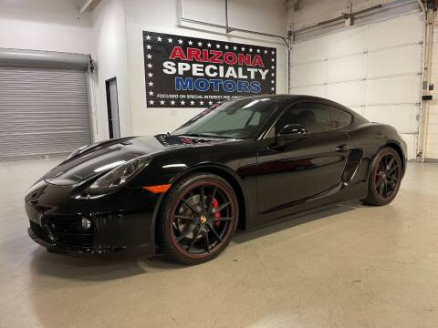 2014 Porsche Cayman for sale at Arizona Specialty Motors in Tempe AZ