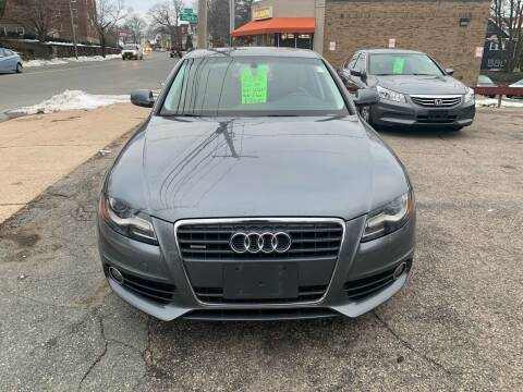 2012 Audi A4 for sale at Arlington Auto Brokers in Arlington MA
