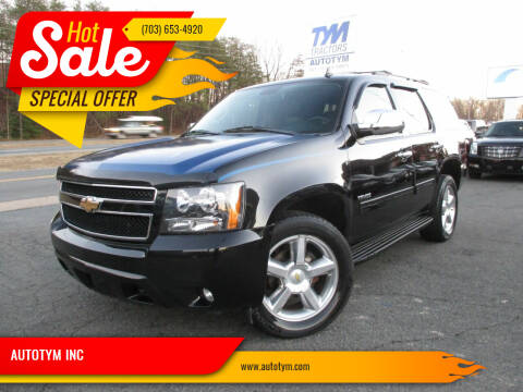 2010 Chevrolet Tahoe for sale at AUTOTYM INC in Fredericksburg VA