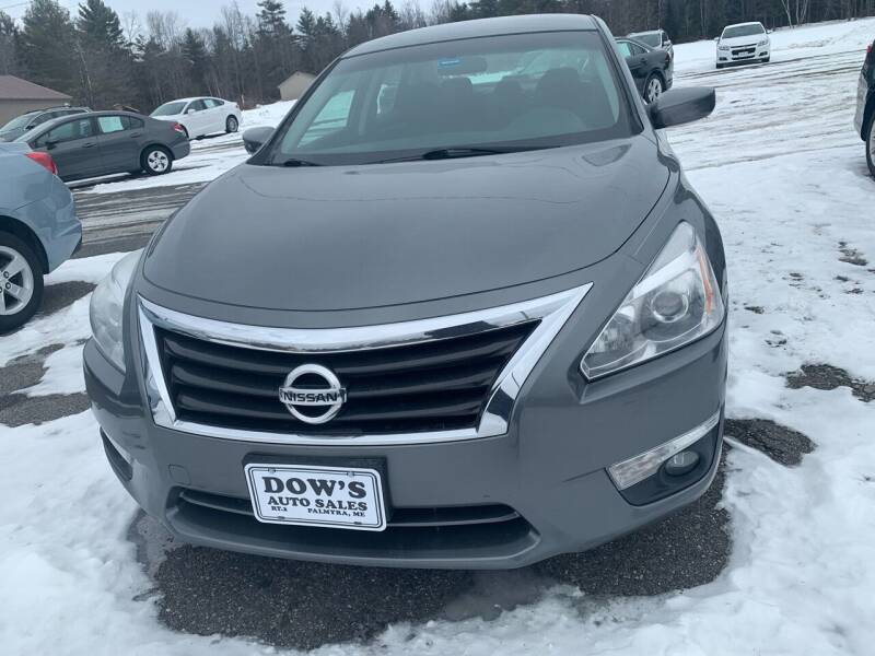 2015 Nissan Altima for sale at DOW'S AUTO SALES in Palmyra ME
