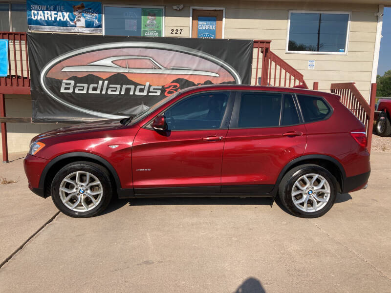 2013 BMW X3 for sale at Badlands Brokers in Rapid City SD