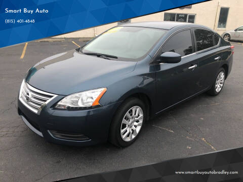 2015 Nissan Sentra for sale at Smart Buy Auto in Bradley IL