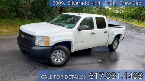 2009 Chevrolet Silverado 1500 for sale at Wheeler Dealer Inc. in Acton MA