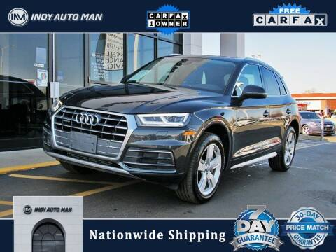 2018 Audi Q5 for sale at INDY AUTO MAN in Indianapolis IN