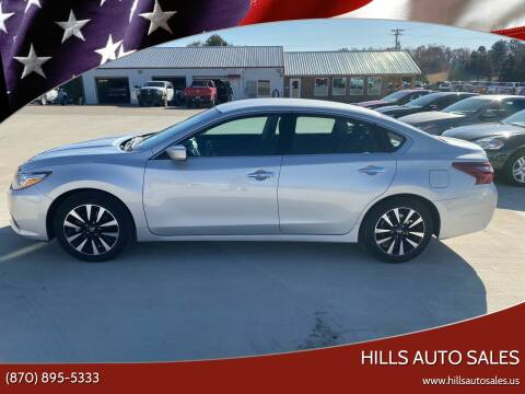 2018 Nissan Altima for sale at Hills Auto Sales in Salem AR
