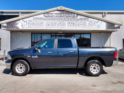 2013 RAM Ram Pickup 1500 for sale at Don Auto World in Houston TX