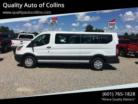 2017 Ford Transit Passenger for sale at Quality Auto of Collins in Collins MS