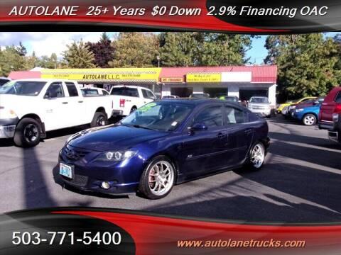 2005 Mazda MAZDA3 for sale at Auto Lane in Portland OR