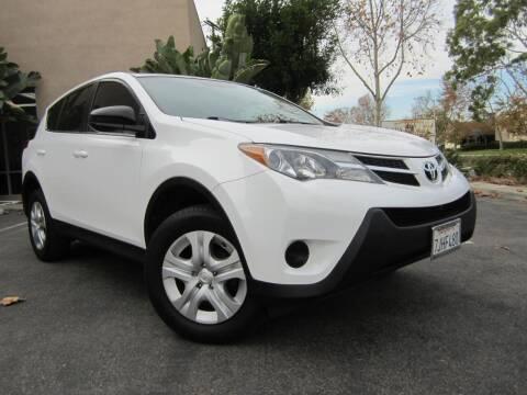 2013 Toyota RAV4 for sale at ORANGE COUNTY AUTO WHOLESALE in Irvine CA