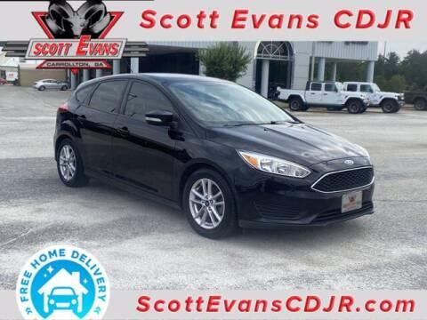 2016 Ford Focus for sale at SCOTT EVANS CHRYSLER DODGE in Carrollton GA