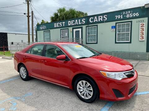 2013 Toyota Camry for sale at Best Deals Cars Inc in Fort Myers FL