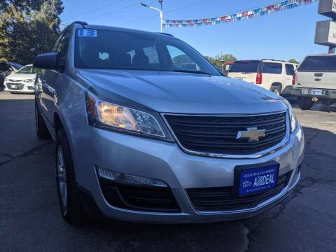2013 Chevrolet Traverse for sale at GREAT DEALS ON WHEELS in Michigan City IN