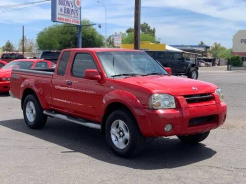 2002 Nissan Frontier for sale at Brown & Brown Wholesale in Mesa AZ
