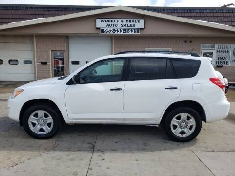 2012 Toyota RAV4 for sale at Wheels & Deals Auto Sales in Shakopee MN