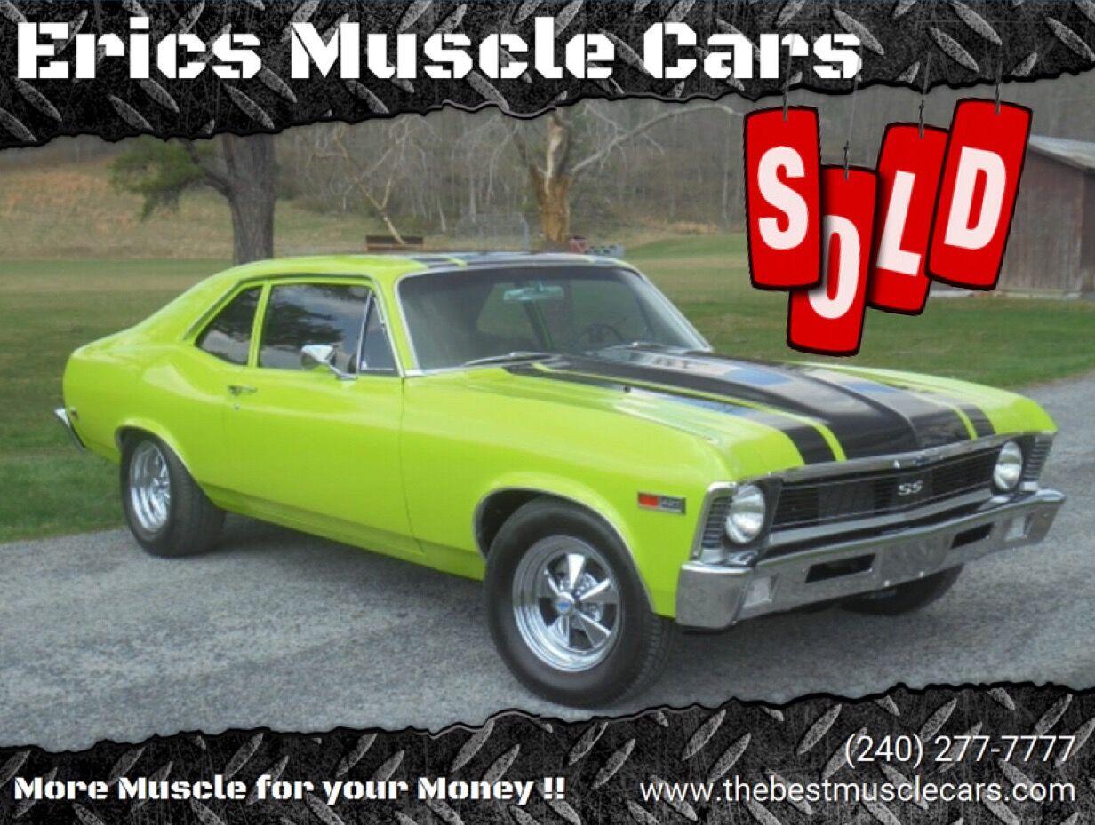 1972 Chevrolet Nova SS SOLD SOLD SOLD