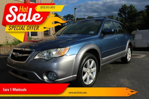 2008 Subaru Outback for sale at Euro 1 Wholesale in Fords NJ
