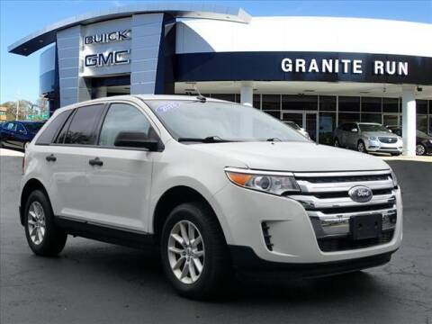 2013 Ford Edge for sale at GRANITE RUN PRE OWNED CAR AND TRUCK OUTLET in Media PA