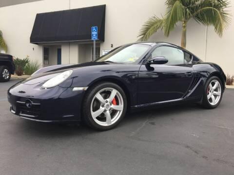 2008 Porsche Cayman for sale at MANGIONE MOTORS ORANGE COUNTY in Costa Mesa CA