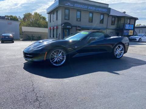 2019 Chevrolet Corvette for sale at Sisson Pre-Owned in Uniontown PA
